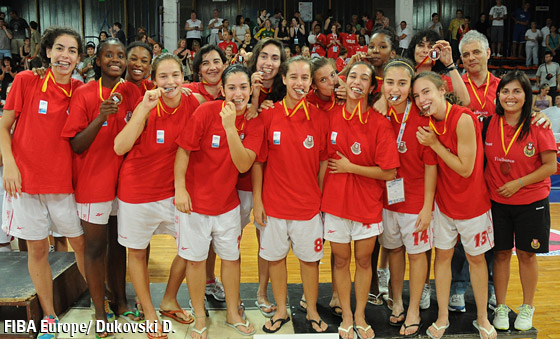 Bronze Medal: Team Portugal